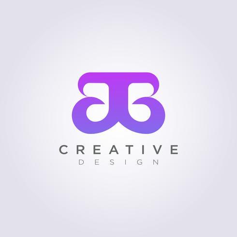 Beleza e luxo Design de ilustração vetorial Clipart símbolo de logotipo modelo vetor