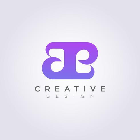 Skönhet och Lyx Vektor Illustration Design Clipart Symbol Logo Mall