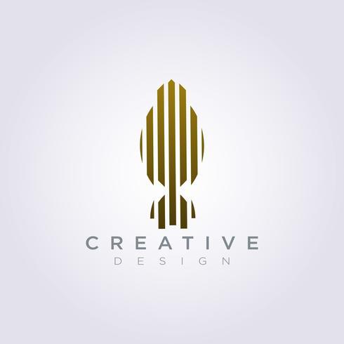 Bâtiment Architecture Horizon Vector Illustration Design Clipart Logo Logo Template