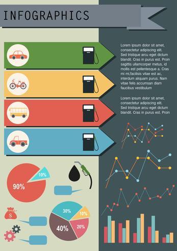 Ein Diagramm, das den Kraftstoffverbrauch zeigt