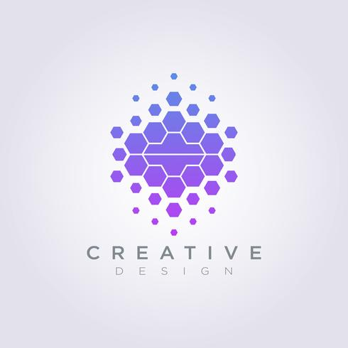 Digital Brain Data Template Design Company Logo Vector