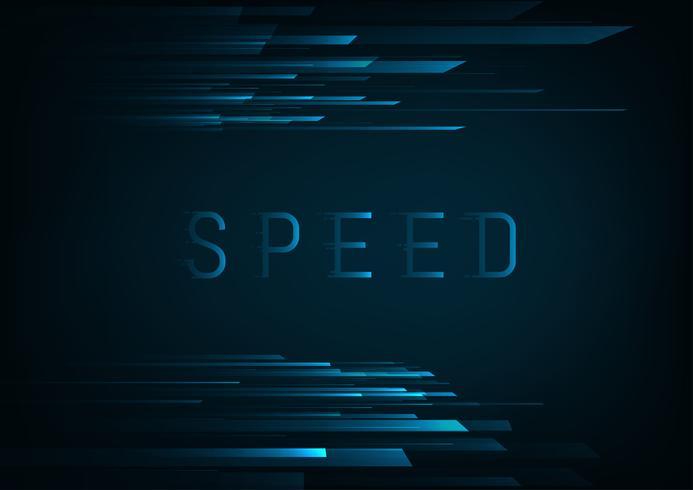 hi speed koncept vektor