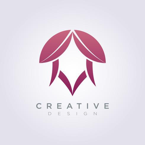 Abstract Dragon Head Horn Template Design Company Logo Vector Symbol Icon
