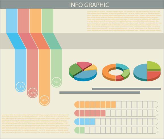 Un infograph con grafici colorati