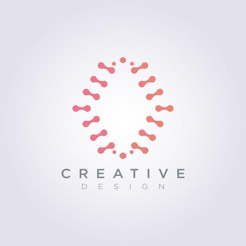 Digital Brain Data Template-Design-Firma Logo Vector Symbol Icon