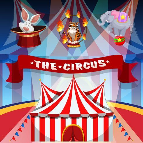 Cirkuskonceptaffischen