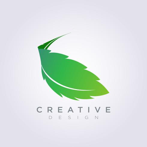 Leaf Vector Form Design Clipart Symbol Logo Art Mall