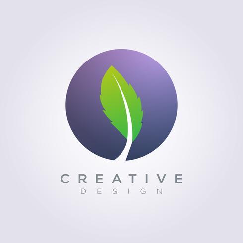 Icône de cercle cercle modèle Design Company Logo symbole vecteur