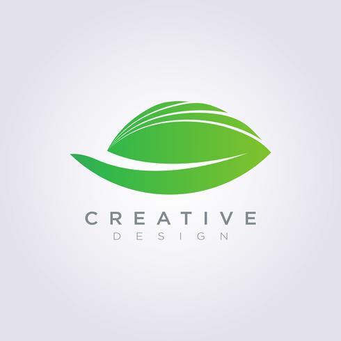 Hoja Vector Forma Diseño Clipart símbolo Logo arte plantilla