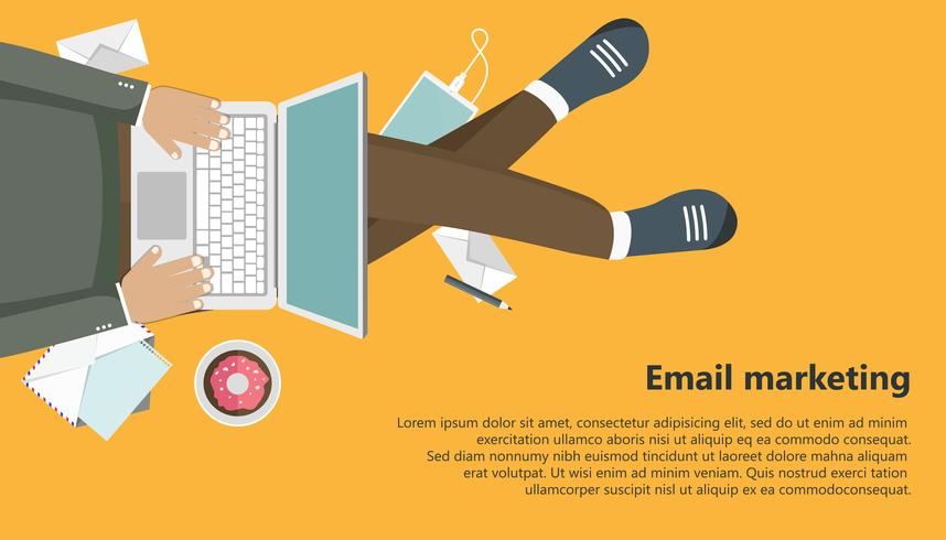 Email marketing business banner