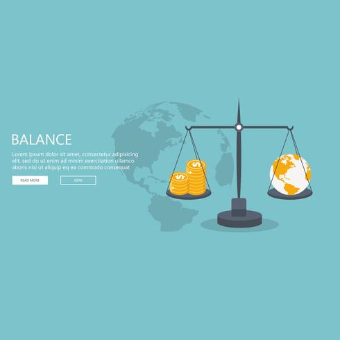 Money balancing with tax on scales
