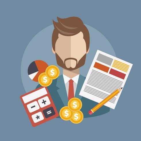 Bedrijfsonderzoek en analyseconcept