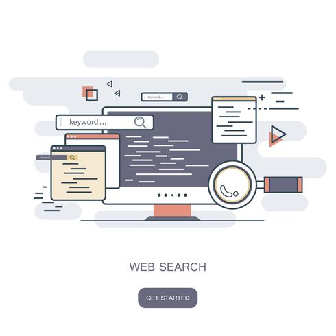 Conceito de pesquisa na Web