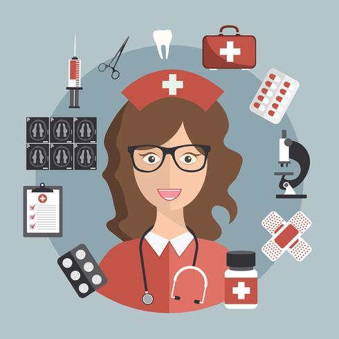 Conceito de cuidados de saúde e medicina