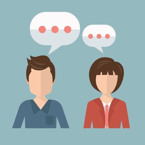 Concept de service d'assistance. Illustration vectorielle design plat avec des icônes. Assistants de support technique.