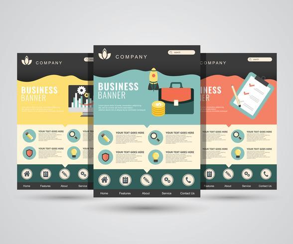 Wohnung modernes Design-Vorlage für digitales Marketing, Start, Planung, SEO, Analyse. Flache Vektorillustration für Website und bewegliche Anwendungen