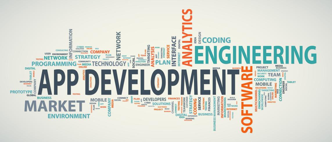 Application development banner
