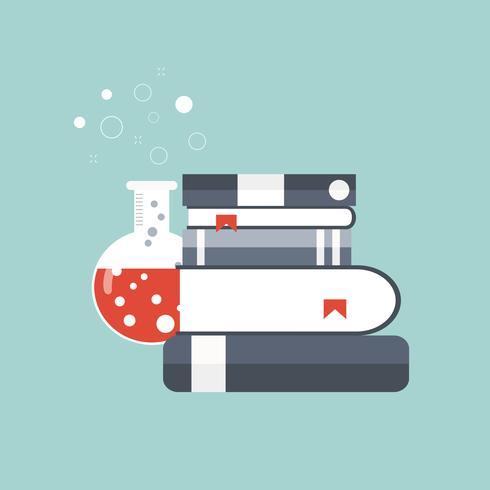 Concept pour la science, la médecine et la connaissance