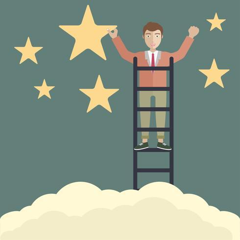 Metafor för framgångsrikt företag eller att nå målet