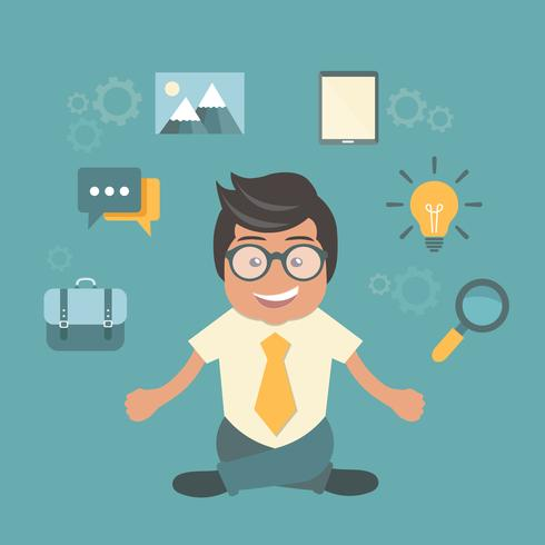 Personal- und Selbständigkeitskonzept. Entwicklung und Internet-Service