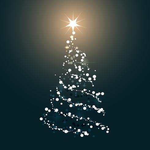 Icona dell'albero di Natale. Illustrazione vettoriale piatto