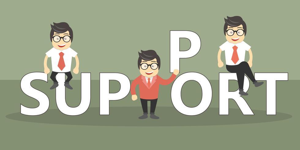 Support service koncept