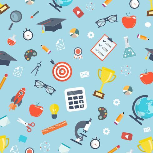 Concept de l'éducation. Illustration vectorielle plane