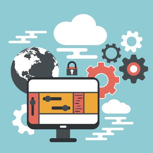 Computer device, data cloud storage security