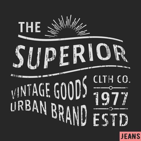 Sello superior vintage
