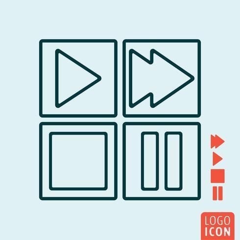 Media controls icon