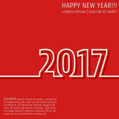Carte de nouvel an 2017