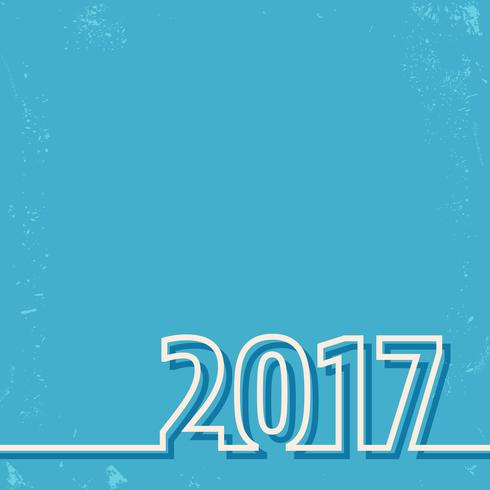 Carta del nuovo anno 2017