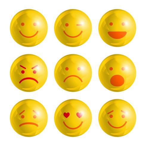 Emoji-Emoticons festgelegt
