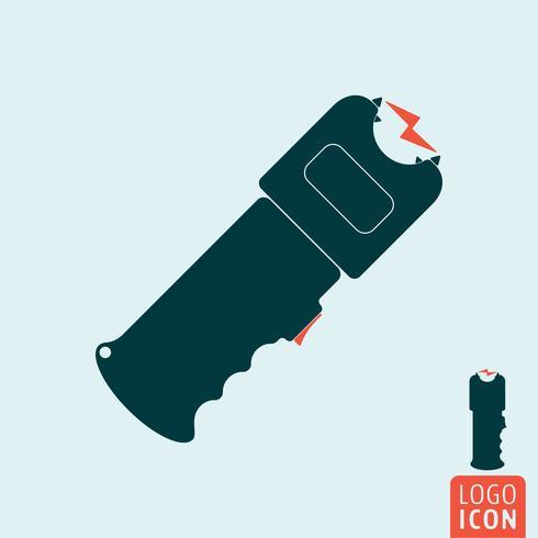 Ícone de arma de choque vetor