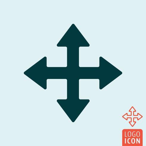 Icono de cursor de flechas