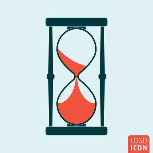 Icône d'horloge de sable
