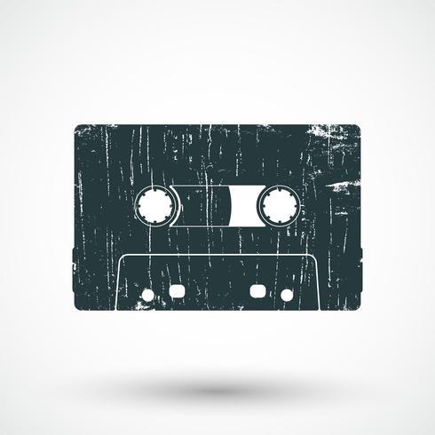 Ícone de cassete de áudio.