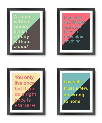 Quotes motivation frames set