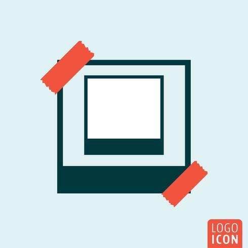 Icono de marco de foto
