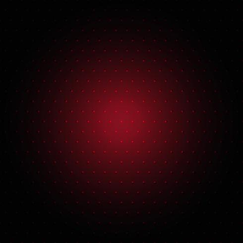 Fondo de puntos rojos vector