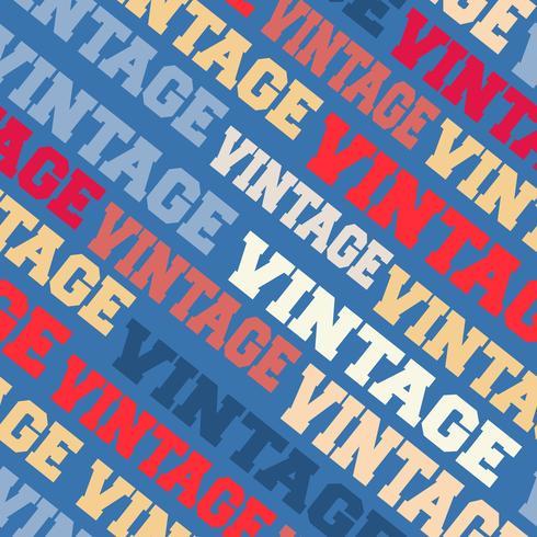 Vintage fond sans couture