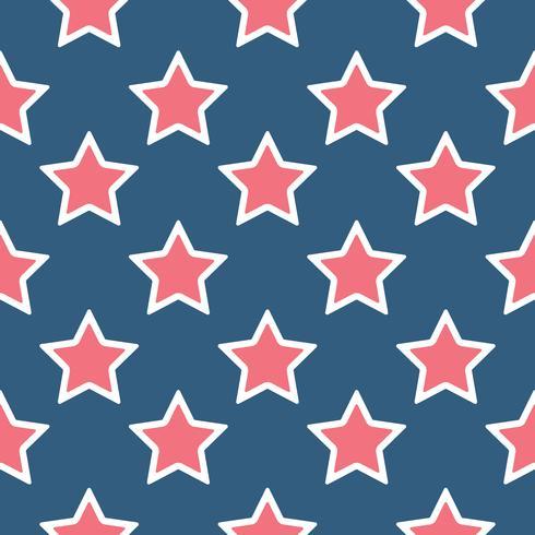 Modèle sans couture d'étoiles