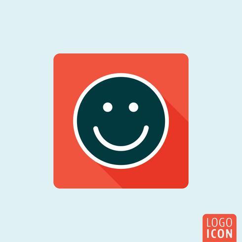 Smilr ikon isolerad