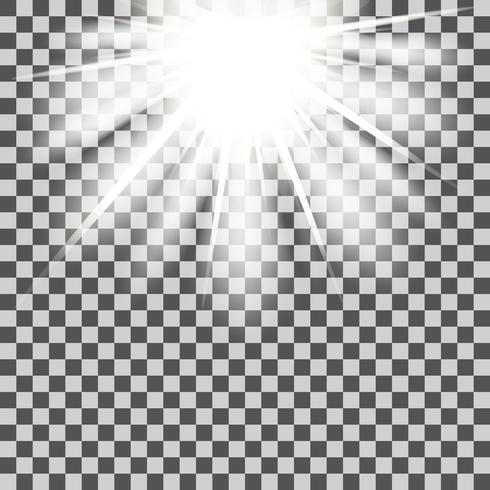 Poutres étoilées transparentes