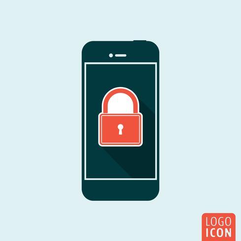Icono de smartphone aislado vector