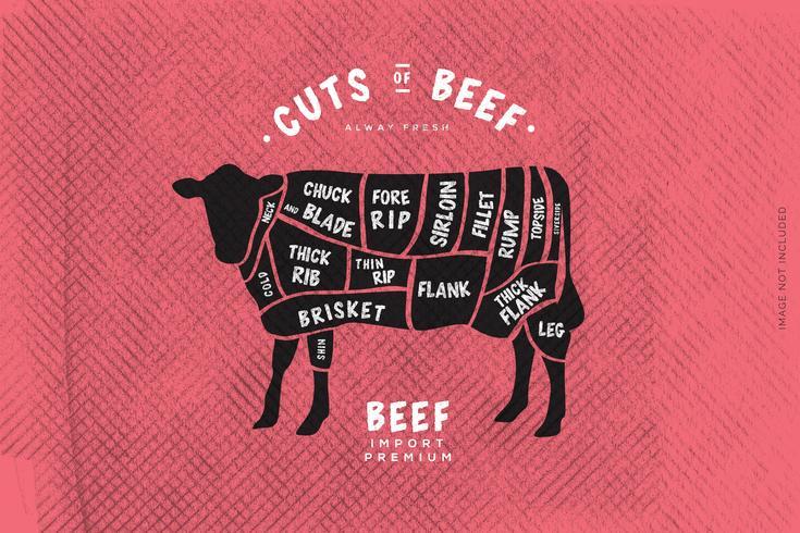 La macelleria's Guide, Cut of Beef