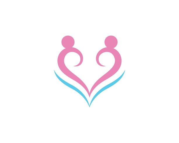 Community love people care logo and symbols template ..
