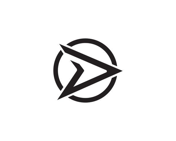 D schnellerer Logo-Vektor