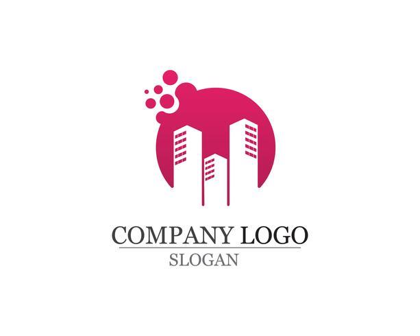Appartement Logo ontwerp voor zakelijke corporate sign