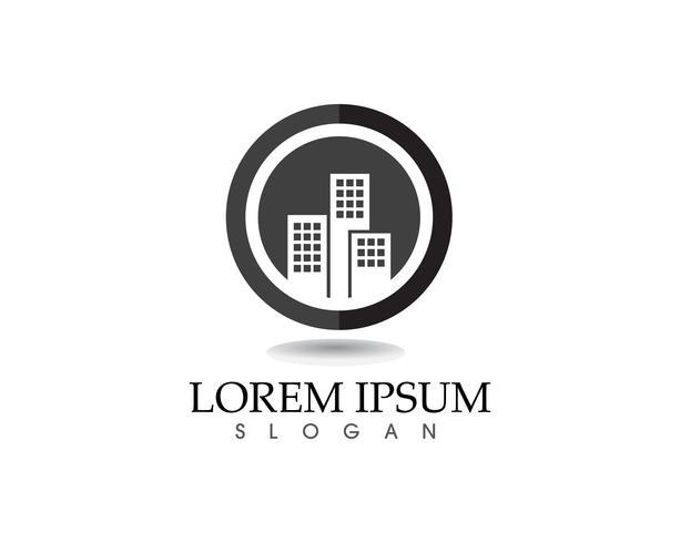 Haus Gebäude Logo und Symbole Symbole Vorlage